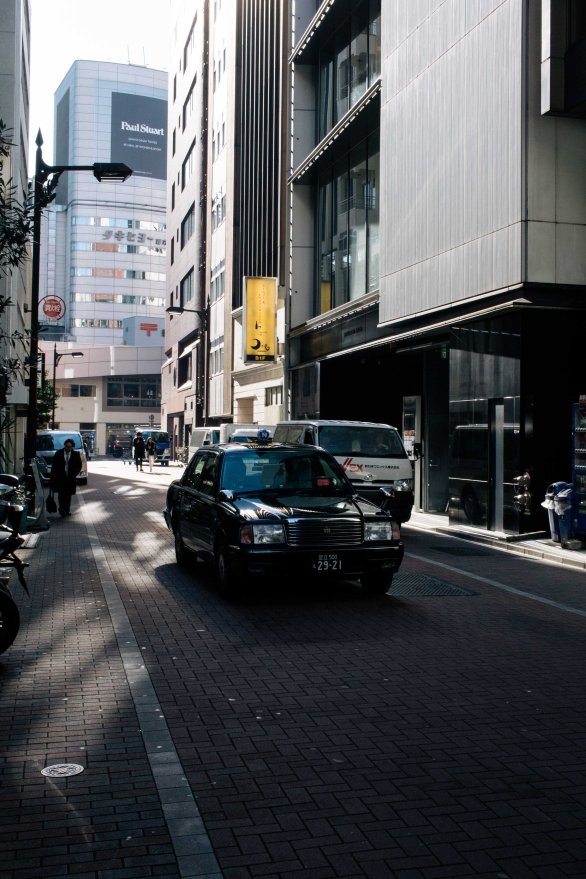Tokyo taxis may be the world's finest.