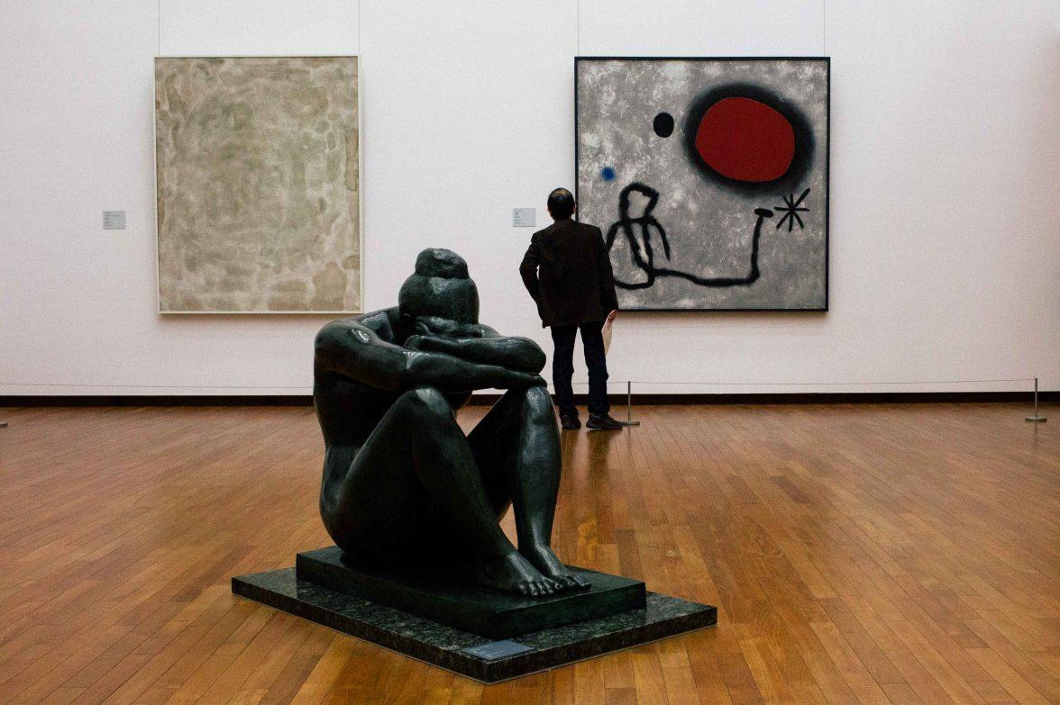 Sam Francis, Aristide Maillol, Joan Miró